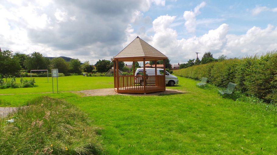 Woodcraft's bespoke play shelter