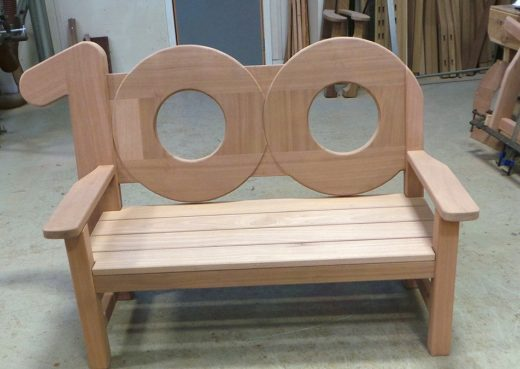 WE100 bench in production