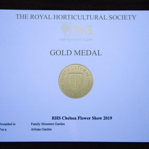 Gold Medal for Artisan Garden at RHS Chelsea Flower Show 2019