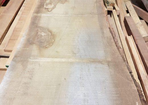 Raw hardwood