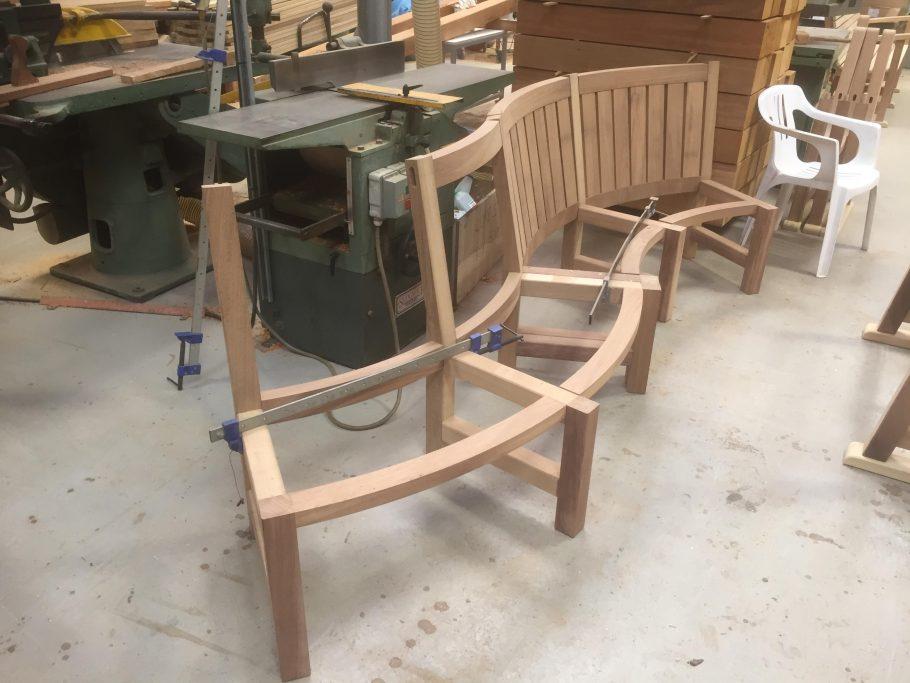 A prototype of the Saltwick designer bench range