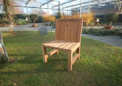The single seater Saltwick bench