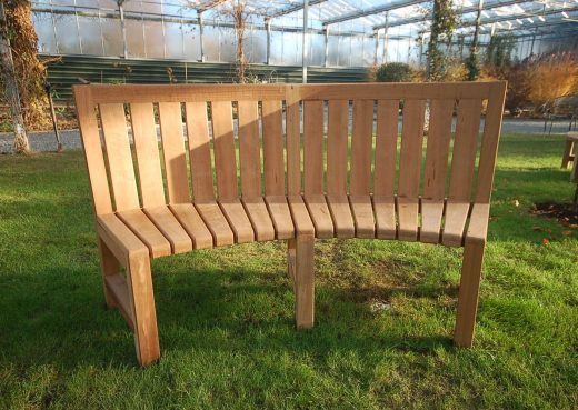 The Saltwick Concave bench