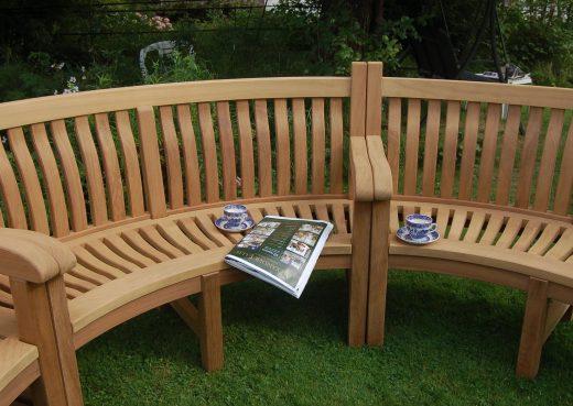 Bespoke Memorial Bench based on the Scarborough design