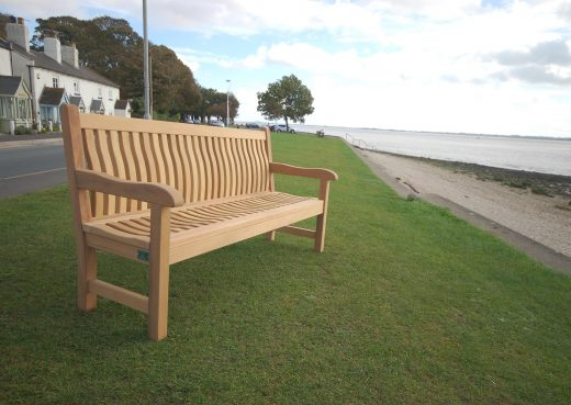 Scarborough Bench by the Humber