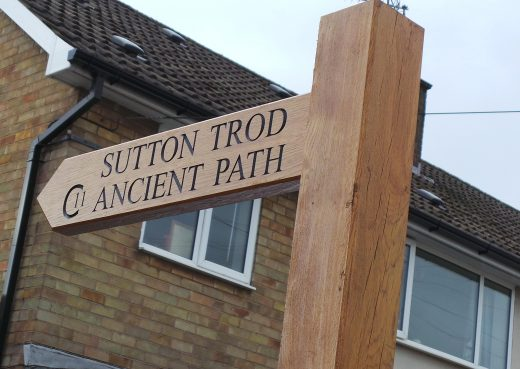 Wayfinding Fingerpost At Sutton trod
