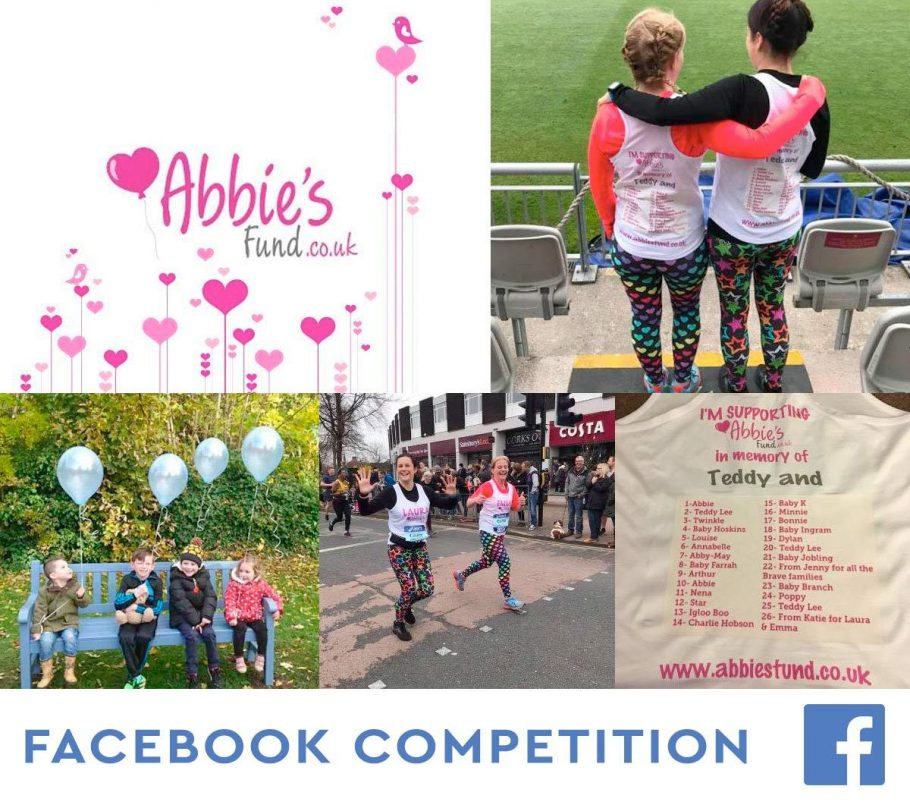 Facebook Competition, raising money in Memory of Teddy-lee.