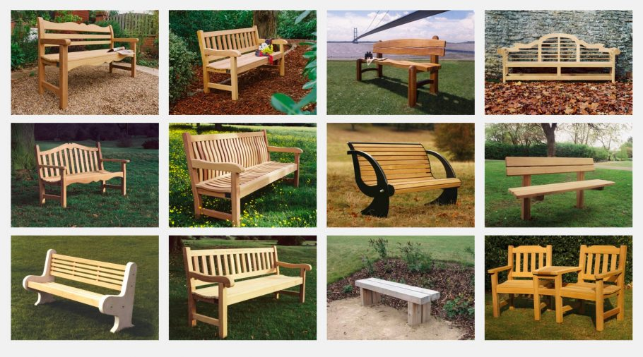 Our Ever Growing Core Range of Garden Benches