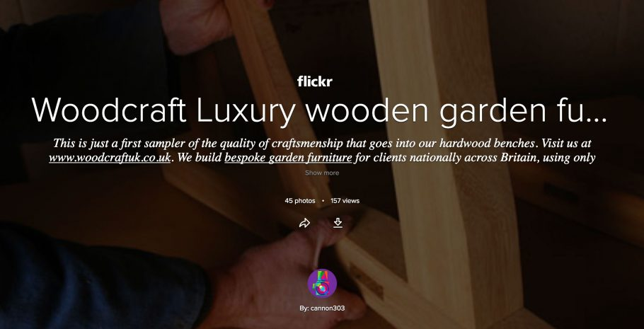 Woodcraft on Flickr