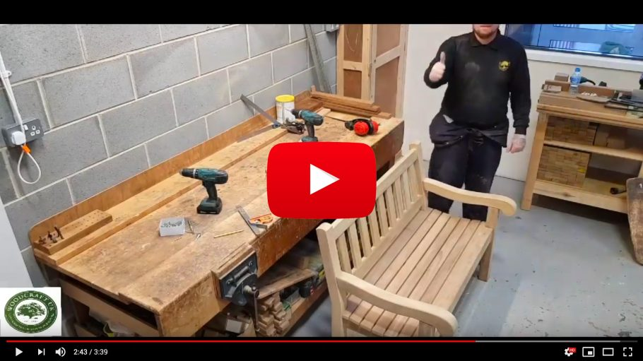 YouTube Video of our Mendip Bench Assembly