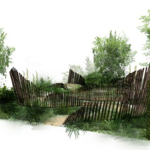 Artists impression of garden: Calm in Chaos