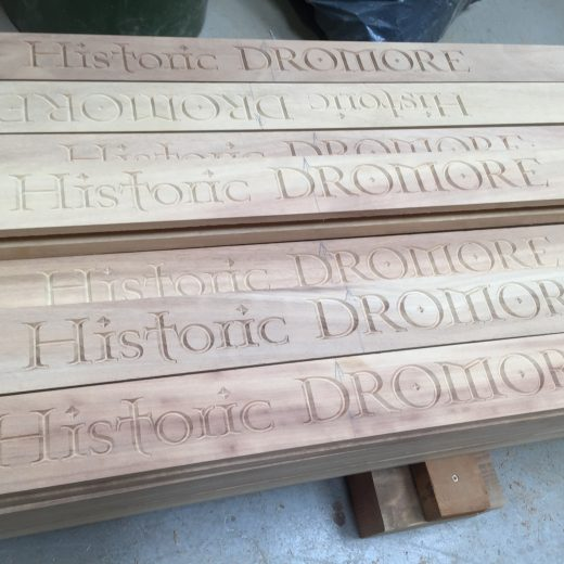 Historic Dromore Planter engravings