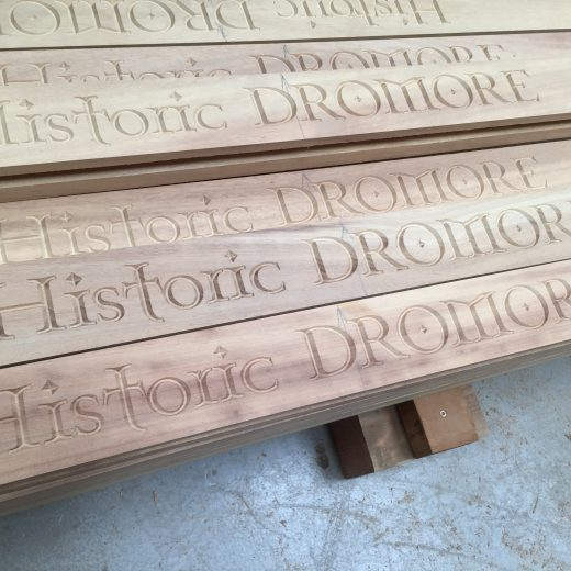 Historic Dromore engraving