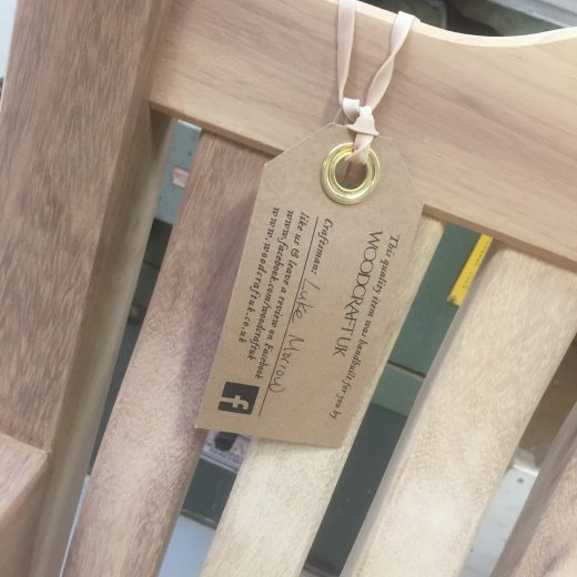 Craftsman tag with details