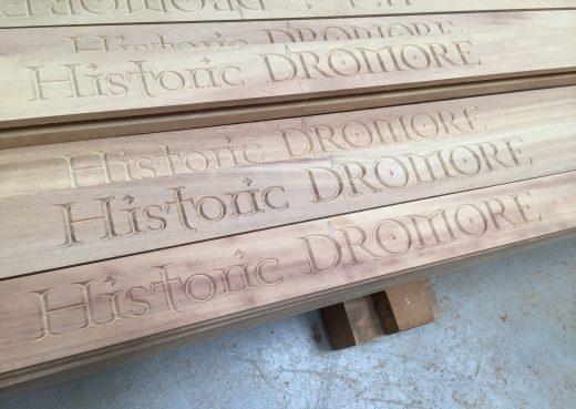 Historic Dromore engraving