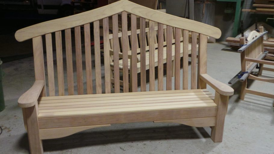 The Bute Memorial Bench for Royal Parks London