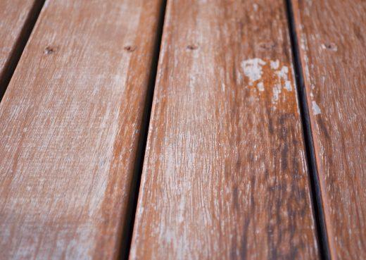 Wood needing a new coat of varnish