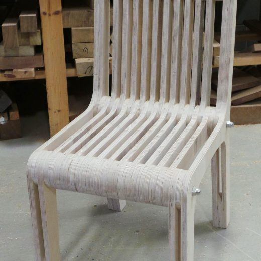 Plywood Chair front