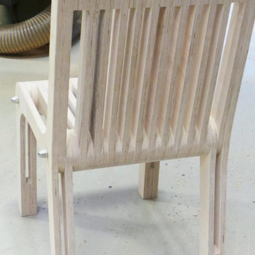 Plywood Chair back