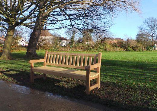 York Memorial bench by Woodcraft UK