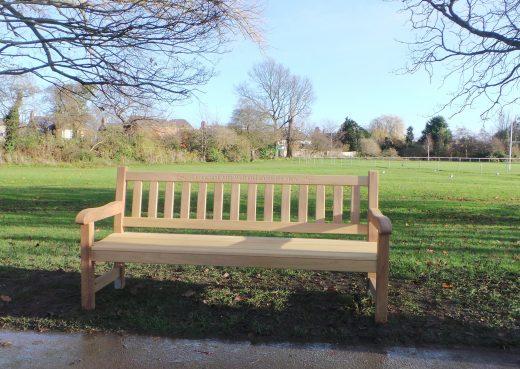 The flagship York memorial bench