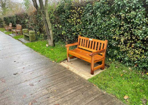 Our York memorial bench