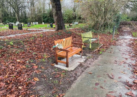 Our latest York 4ft bench at Hedon cemetery