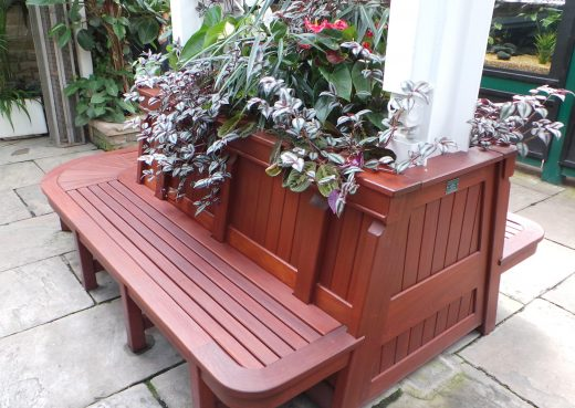 Bespoke bench and planting system