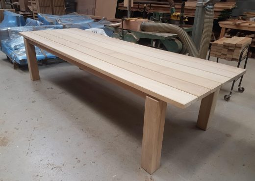 Large 3.25 meter dining table