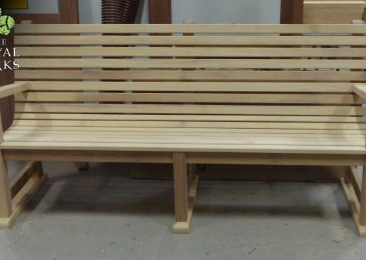 Regent's Park wooden bench