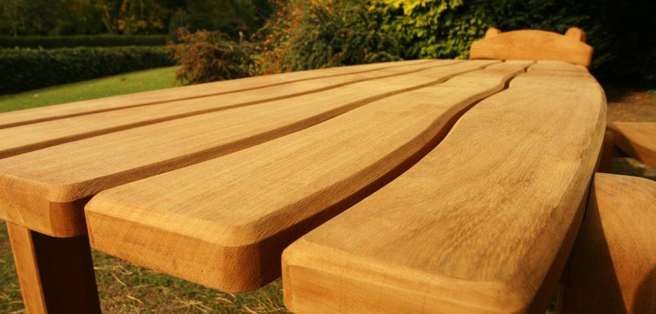 Durable, long lasting – all weather hardwood tables.