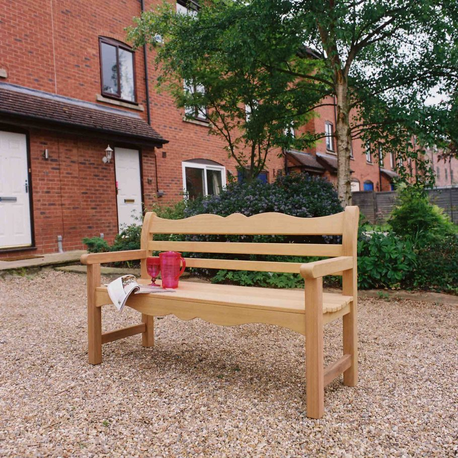 The Beverley Bench, named after the north's most desirable places to live!