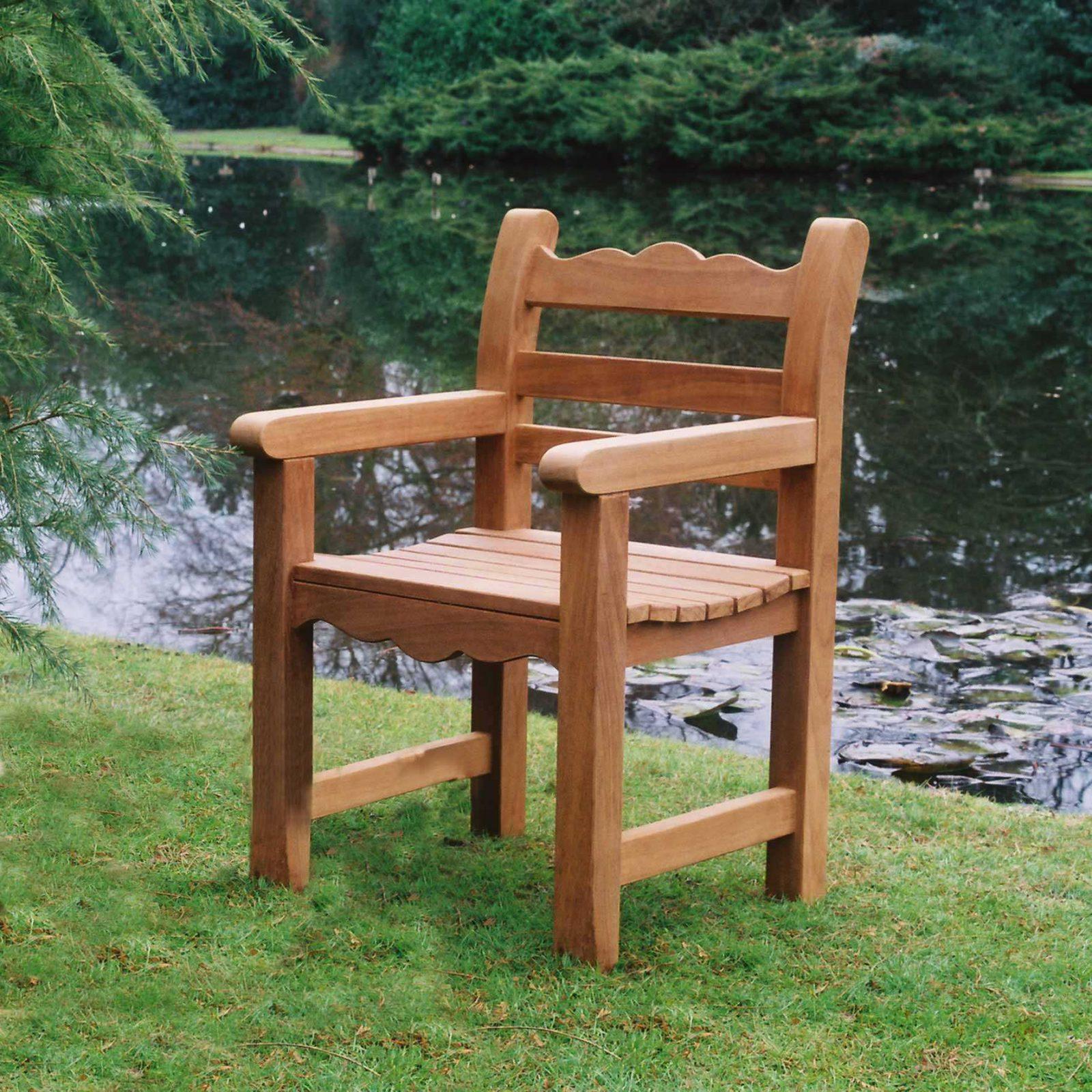 The Beverley Garden Arm Chair - Beverley Garden Bench ...