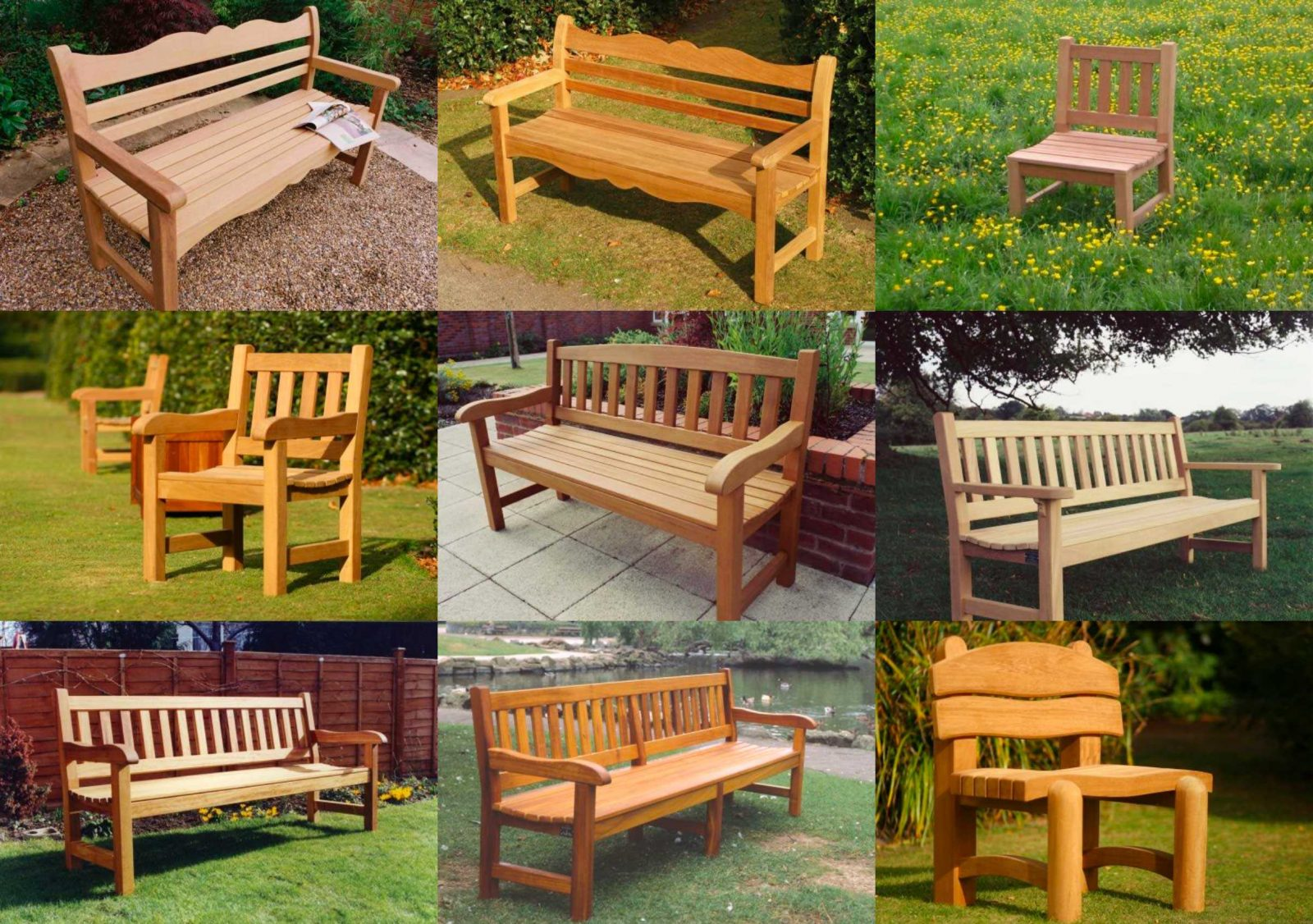 Memorial benches and outdoor chairs made in Yorkshire ...