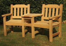 The Helmsley Companion Garden Bench