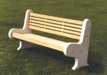 The Lastingham Park Bench