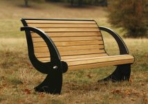 The Spinnaker Garden Bench
