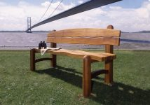 The Waveform Park Bench & Chair