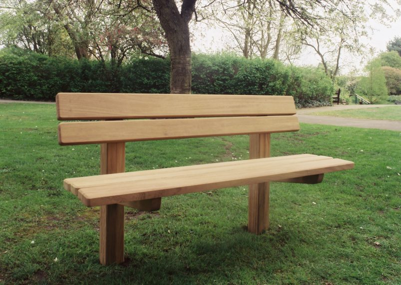 The Staxton Wooden Park Bench Handcrafted In Yorkshire Woodcraft Uk