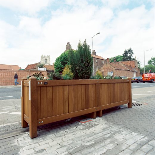 Sturdy roadside planters. Any size and shape.
