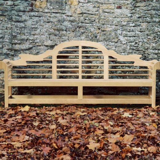 A Lutyens wooden bench