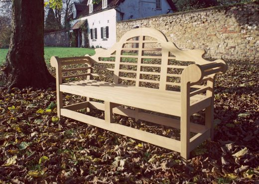 The Lutyens wooden bench