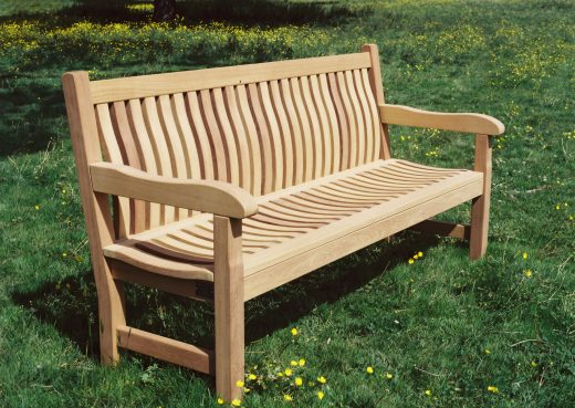 The Scarborough wooden bench