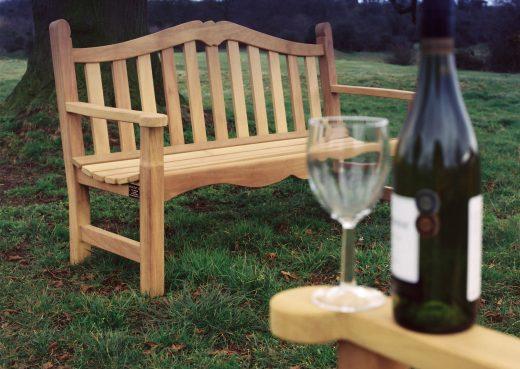 The Knaresborough garden bench