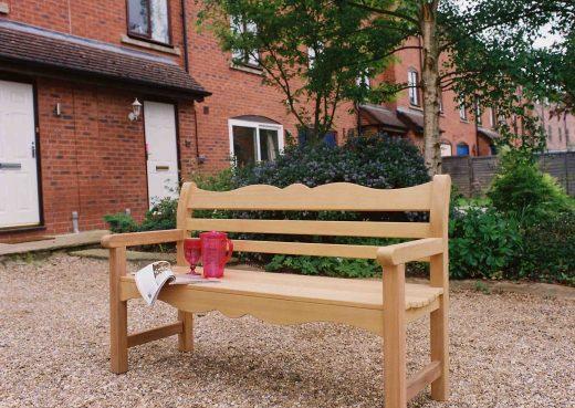 The Beverley Wooden Bench