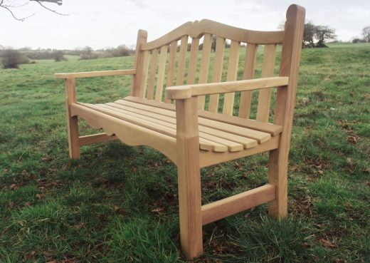 The Knaresborough wooden bench