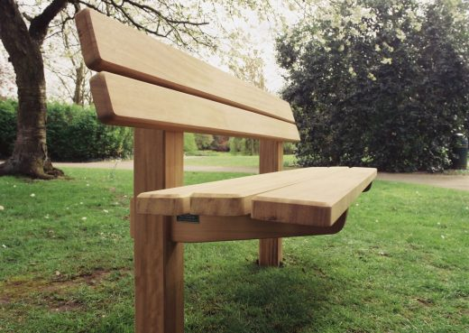 The Staxton wooden bench