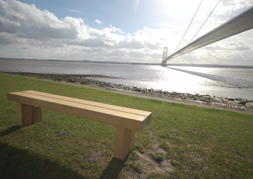 A Wykeham bench by Woodcraft UK