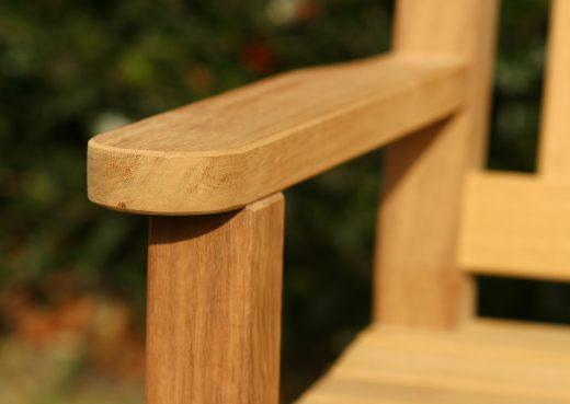 Helmsley garden chair flat arm
