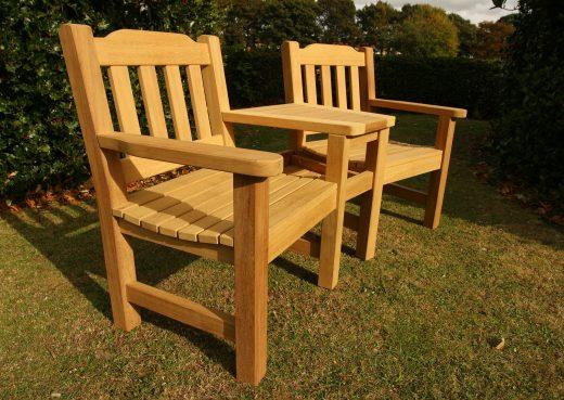 Helmsley garden companion chair set